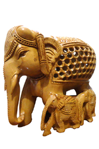 Wooden Handicrafts Indian Traditional Wear Mens And Womens Wear
